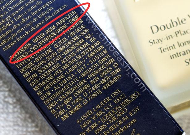 Image result for makeup labels ingredients