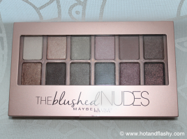 Maybelline Blushed Nudes Palette Closed