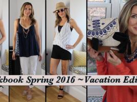 Lookbook Spring 2016 Vacation