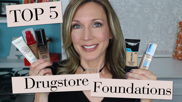 Best full coverage drugstore foundation for mature skin