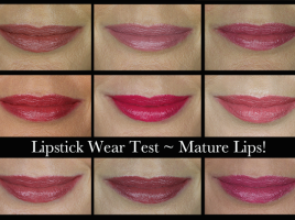 Lipstick Testing 2017
