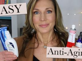 Quick Easy Anti-Aging Skincare Routine