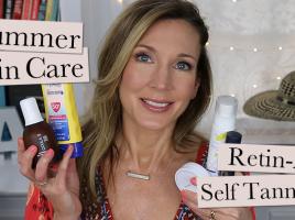 Summer Skincare + Anti-Aging
