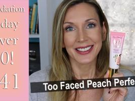 FFOF #41 Too Faced Peach Perfect Thumb