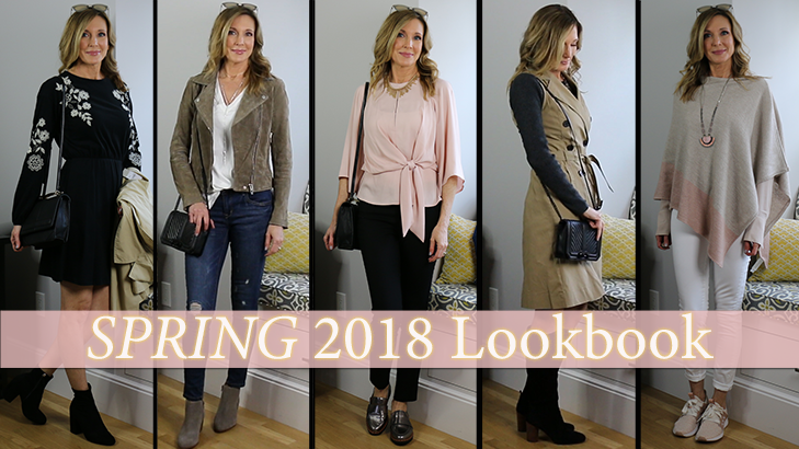683397919b2 Outfit Ideas for Spring 2018! Lookbook Capsule Wardrobe