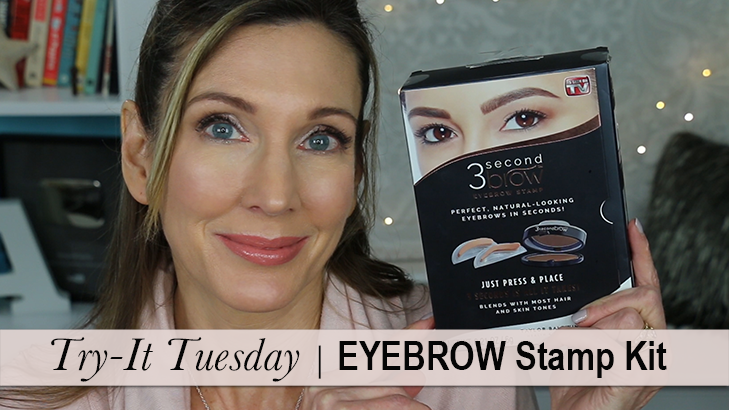 Try It Tuesday 3 Second Brow Eyebrow Stamp Kit