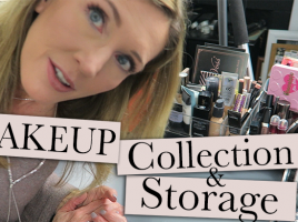 Makeup Collection + Storage