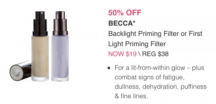 Becca Backlight Primer