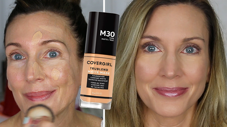 Foundation Friday Over 50 ~ CoverGirl Matte Made Foundation