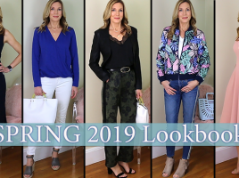 5a141a6fe77a Spring Outfit Ideas for Women Over 50! 2019 Lookbook