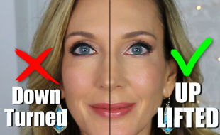 Eyeliner Tutorial for mature women to lift eyes